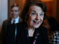 U.S. Sen. Dianne Feinstein (D-CA) arrives at a weekly Senate Democratic Policy Luncheon at the U.S. Capitol February 5, 2019 in Washington, DC. Senate Democrats held the weekly policy lunch to discuss Democratic agenda. (Photo by Alex Wong/Getty Images)