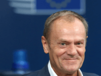 European Council President Donald Tusk arrives at the European Council in Brussels on October 18, 2018. - European Union leaders meet for a summit focused on migration and internal security, after reviewing the state of the Brexit negotiations with Britain. (Photo by François WALSCHAERTS / POOL / AFP) (Photo credit …