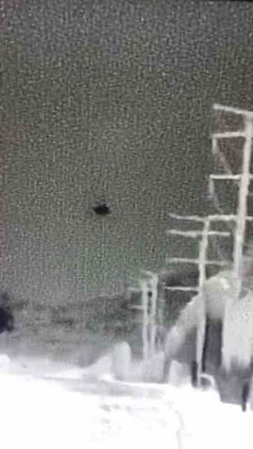 """El Paso Sector Border Patrol agents witness a drone being utilized as a """"look-out"""" as migrants are smuggled into U.S. (Photo U.S. Border Patrol/El Paso Sector)"""