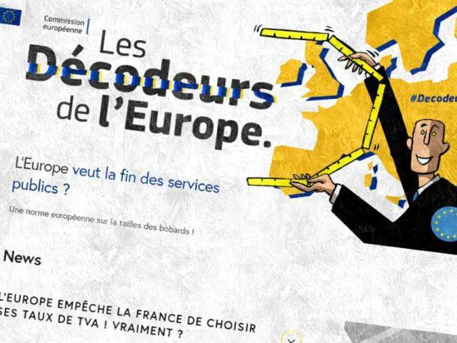 European Commission, https://decodeursdeleurope.eu/