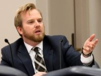 "In this March 15, 2017, file photo, Rep. James Grant, R-Tampa, speaks during a subcommittee meeting, in Tallahassee, Fla. Republican lawmakers have so far shown unwavering support for stricter policies on immigration, even when those opposing the measures say the language opens up local municipalities to ""frivolous litigation"" for going …"