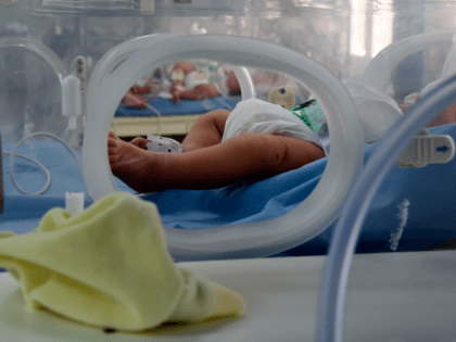 A photo taken March 11, 2019, shows babies inside incubators at the maternity ward of the Rabta hospital in Tunis. - A dozen newborn babies whose deaths at a Tunisian state hospital sparked public outrage are believed to have been killed by an infection acquired in the clinic, the acting …
