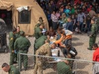 Border Patrol agents pulled from front-line national security duties provide humanitarian support to Central American migrant families in El Paso. (Photo: U.S. Border Patrol/Mani Albrecht)