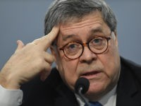 US Attorney General William Barr testifies during a US House Commerce, Justice, Science, and Related Agencies Subcommittee hearing on the Department of Justice Budget Request for Fiscal Year 2020, on Capitol Hill in Washington, DC, April 9, 2019. (Photo by SAUL LOEB / AFP) (Photo credit should read SAUL LOEB/AFP/Getty …
