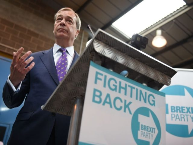 The anti-EU Brexit Party of United Kingdom  launches EU election Effort