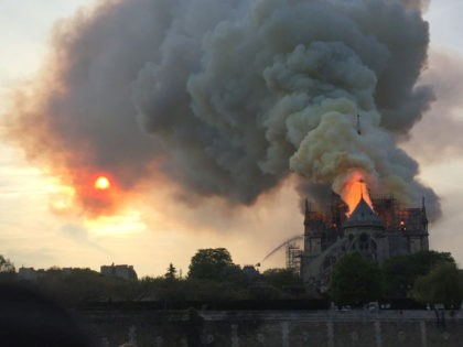Delingpole: Notre Dame's Near-Destruction Is a Tragedy Which Shames Our Civilisation