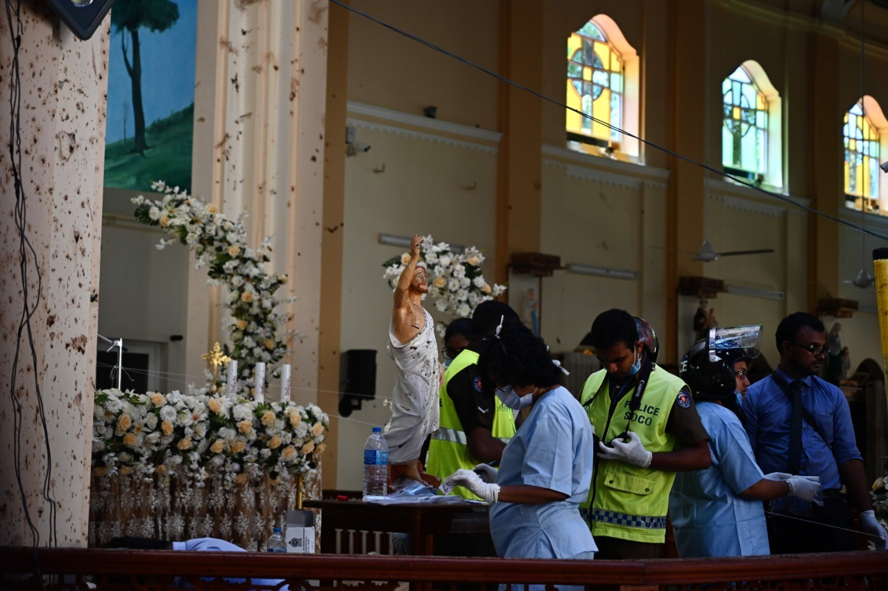 'International network' involved in Sri Lanka bombings - cabinet spokesman