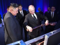 Kim Jong-un, Putin Trade Swords During Russian Gala