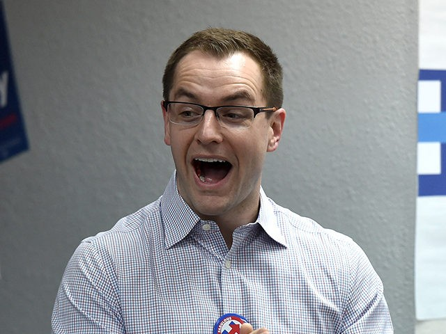 LAS VEGAS, NV - FEBRUARY 19: Democratic presidential candidate Hillary Clinton's campaign manager Robby Mook visits workers at a campaign office on February 19, 2016 in Las Vegas, Nevada. Clinton is challenging Sen. Bernie Sanders for the Democratic presidential nomination ahead of Nevada's February 20th Democratic caucus. (Photo by Ethan …