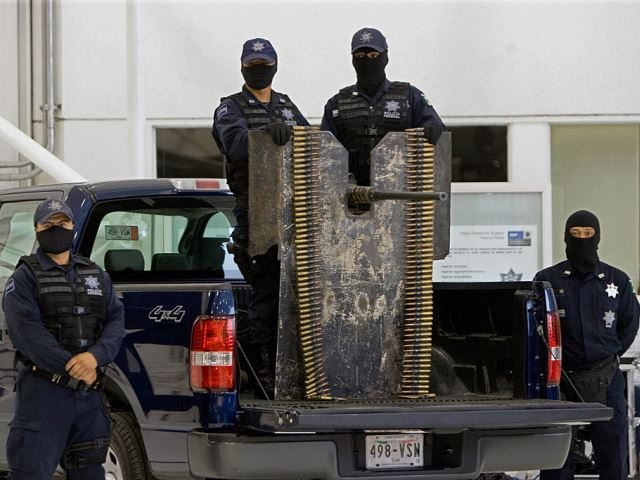 Mexican federal police in Sonora. (File Photo: ALFREDO ESTRELLA/AFP/Getty Images)