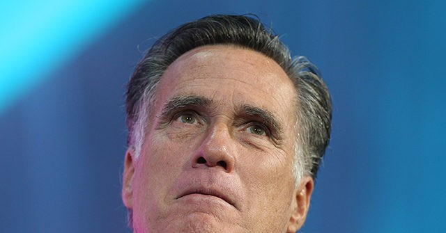 photo image Mitt Romney: Trump Has Distanced Himself From 'Humility,' 'Honesty, Integrity'