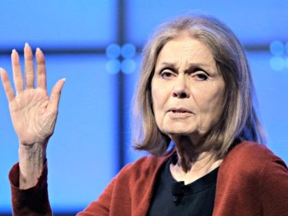 Feminist icon Gloria Steinem speaks, Thursday, Dec. 7, 2017, during the 13th annual Massachusetts Conference for Women, in Boston. The conference opened Thursday against a backdrop of expanding allegations of sexual misconduct against prominent men in Hollywood, politics and the media. (AP Photo/Steven Senne)