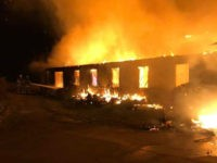 Graffiti allegedly linked to a white power movement was discovered at the site of a fire that destroyed parts of a Tennessee nonprofit that promotes social justice. The nonprofit,the Highlander Education and Research Center, announced Tuesday that it discovered the graffiti near the site of a fire that destroyed its …
