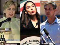 Hillary Clinton, Ocasio-Cortez, Beto O'Rourke- The Inauthentics
