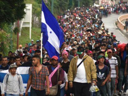 Honduran, Guatemalan migrant caravan