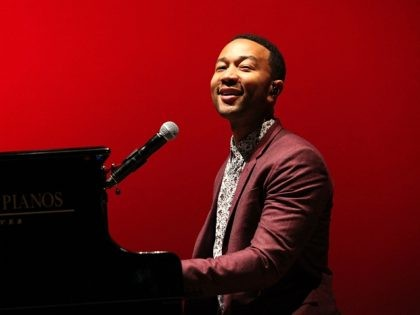 MORRISON, CO - JUNE 18: John Legend performs during the opening night of SeriesFest at Red Rocks Amphitheatre on June 18, 2015 in Morrison, Colorado. (Photo by Jason Bahr/Getty Images for SeriesFest)