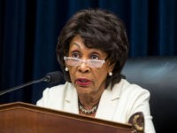 WASHINGTON, DC - APRIL 09: House Financial Services Committee Chairman Maxine Waters (D-CA) speaks during a House Financial Services Committee Hearing on Capitol Hill on April 9, 2019 in Washington, DC. U.S. Secretary of Treasury Steve Mnuchin is testifying on the state of the international financial system. (Photo by Zach …