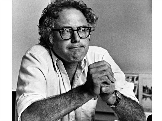 This Sept. 11, 1981 file photo shows Burlington, Vt., Mayor Bernie Sanders. Sanders is the first Jewish presidential candidate to win delegates in a major party primary. But he has mostly avoided discussing his Judaism on the campaign trail, bewildering many American Jews. (AP Photo/Donna Light