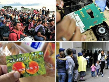 Migrant Caravan, Green Card, Immigration Court, EBT Card