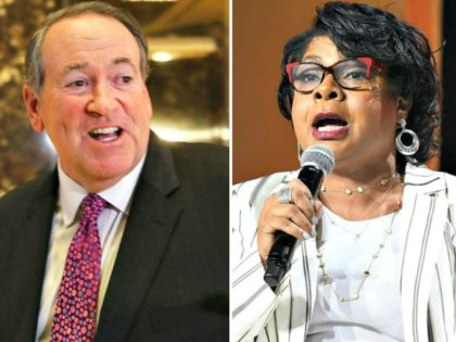 Mike Huckabee, April Ryan
