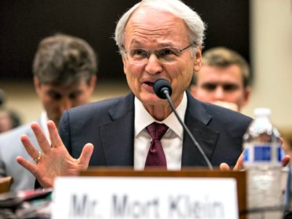 WASHINGTON, DC - APRIL 09: Zionist Organization of America President Mort Klein testifies during a House Judiciary Committee hearing discussing hate crimes and the rise of white nationalism on Capitol Hill on April 9, 2019 in Washington, DC. Internet companies have come under fire recently for allowing hate groups on …