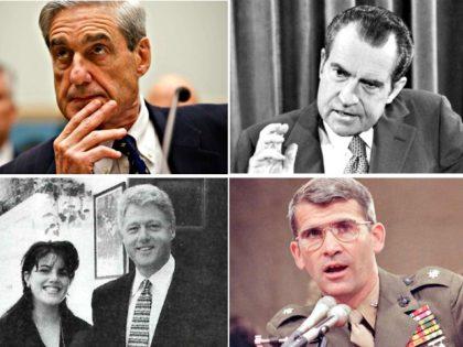 Mueller Report, Watergate, Iran-Contra, Starr Report AP