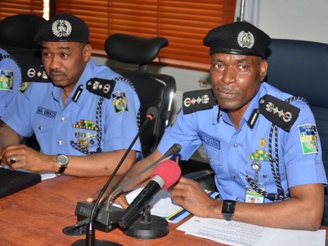 Nigeria Police Chief Mohammed Adamu.