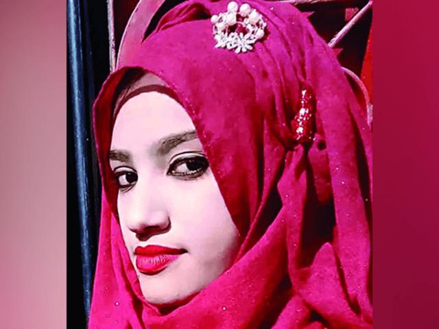 Nusrat Jahan Rafi, 19, accused headmaster at Islamic school of attacking her