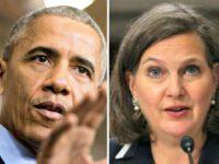 Obama, Victoria Nuland AP