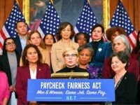Actress Michelle Williams speaks at an event to celebrate the Paycheck Fairness Act on Equal Pay Day in the Rayburn Room of the US Capitol in Washington, DC on April 2, 2019. (Photo by MANDEL NGAN / AFP) (Photo credit should read MANDEL NGAN/AFP/Getty Images)