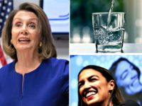 Pelosi, Glass of Water, AOC AP