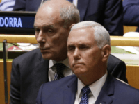 U.S. Vice President Mike Pence, pictured here at U.N. headquarters in New York City in September, told the Security Council Wednesday to support Venezuelan opposition leader Juan Guaido. File Photo by John Angelillo/UPI