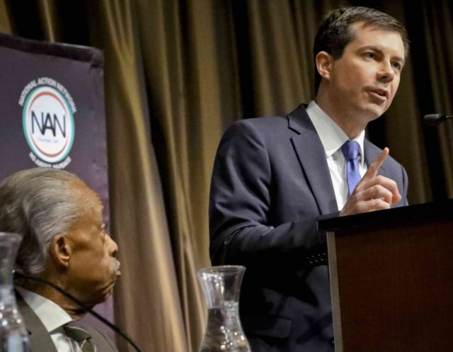 Pete Buttigieg (Bebeto Matthews / Associated Press)