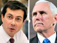 Pete Buttigieg, Mike Pence