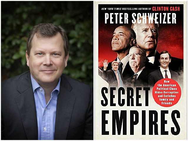 Peter Schweizer's 'Secret Empires' Named Top 5 Best