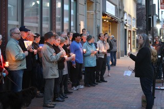Protesters take to the streets in Portland, Maine (Courtesy/Pro-Life Action League)