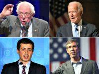 Sanders, Biden, O'Rourke, Buttigieg