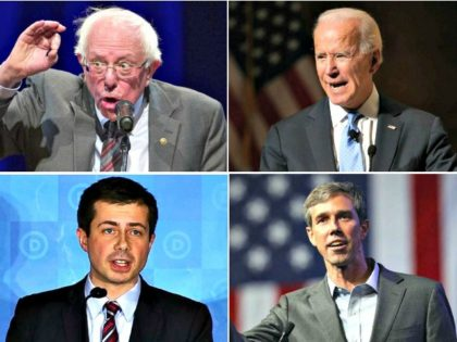 Nolte: Four White Guys Lead the Democrat Primary Race
