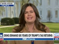 Sarah Sanders on 'Fox & Friends,' 4/4/2019