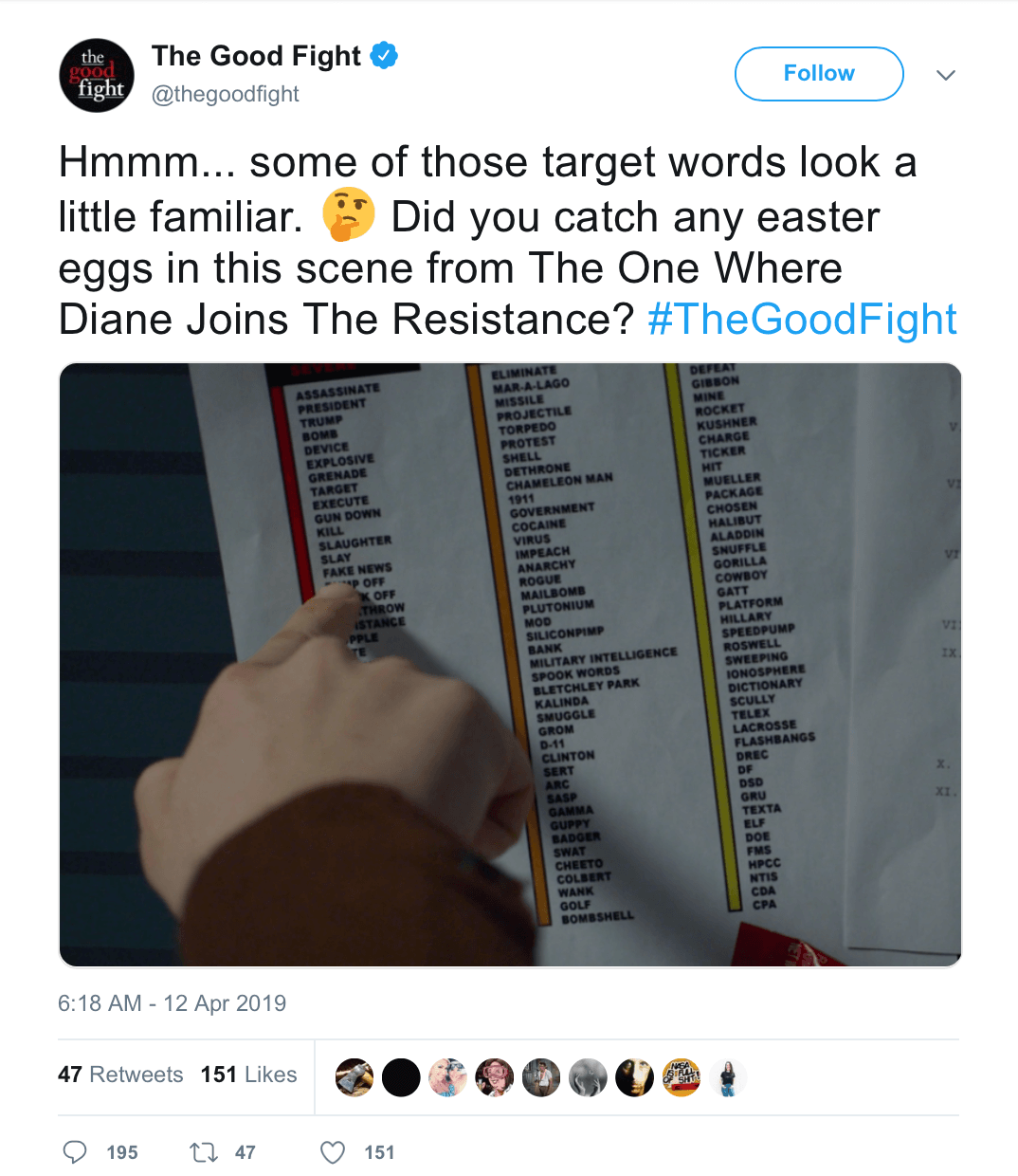 CBS Drama 'The Good Fight' Tweet with 'Assassinate Trump' Sparks Calls for Secret Service Investigation