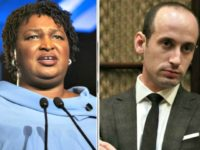 Stacey Abrams, Stephen Miller AP