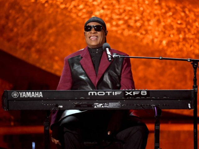 LOS ANGELES, CA - SEPTEMBER 25: Stevie Wonder performs onstage at Q85: A Musical Celebration for Quincy Jones at the Microsoft Theatre on September 25, 2018 in Los Angeles, California. (Photo by Kevin Winter/Getty Images)