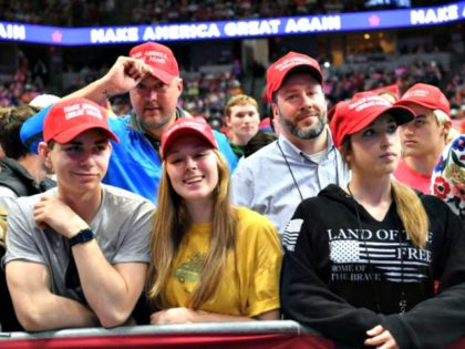 Young Trump Supporters Getty