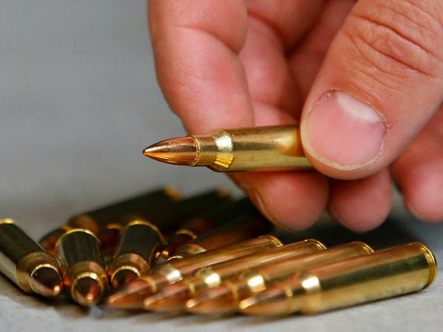 SPRINGVILLE, UT - JUNE 17: This is 223 ammunition for an AR-15 semi-automatic gun at Action Target on June 17, 2016 in Springville, Utah. Semi-automatics are in the news again after the nightclub shooting in Orlando F;lord last week. (Photo by George Frey/Getty Images) gun owners