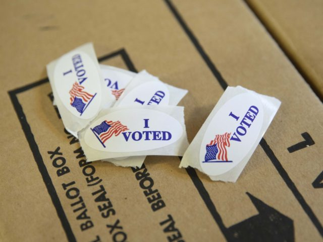 ballot harvesting (Alex Edelman / Getty)