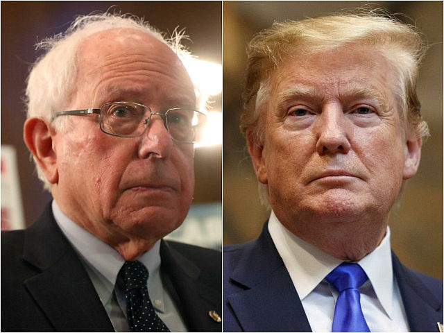 Bernie Sanders and Donald Trump