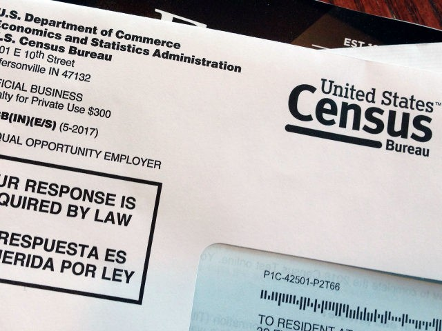 This March 23, 2018 photo shows an envelope containing a 2018 census test letter mailed to a resident in Providence, R.I. The nation's only test run of the 2020 Census is in Rhode Island, and its drawing concerns from community leaders, good government groups and others about how it's being …