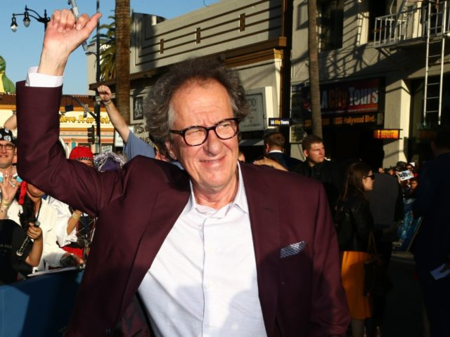 HOLLYWOOD, CA - MAY 18: Actor Geoffrey Rush attends the premiere of Disney's 'Pirates Of The Caribbean: Dead Men Tell No Tales' at Dolby Theatre on May 18, 2017 in Hollywood, California. (Photo by Rich Fury/Getty Images)