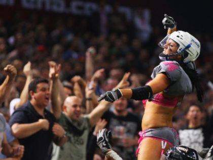 WATCH: Fan Rushes the Field at Lingerie Football Game, Gets Choked Out by Security