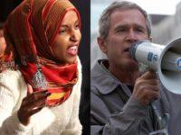 Ilhan Omar (R) George W. Bush